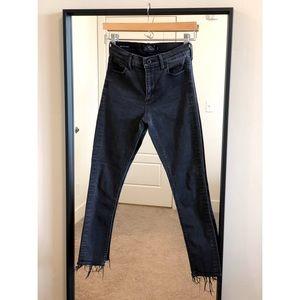 Lucky Brand Black Denim Skinny Jeans